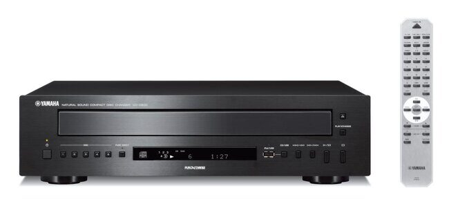 YAMAHA CD-C600 BLACK